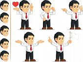 Office Worker Customizable Mascot 9