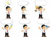 Office Worker Customizable Mascot 15