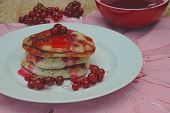 Red Currant Pancakes