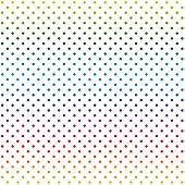 Endless Background Dots Colorful