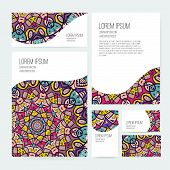 Ornamental Business Set Dedign