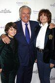 LOS ANGELES - NOV 4:  Max Charles, Robert Wagner, Jill St. John at the