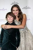 LOS ANGELES - NOV 4:  Max Charles, Bailee Madison at the Hallmark Channel's