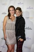 LOS ANGELES - NOV 4:  Erin Krakow, Lori Loughlin at the Hallmark Channel's