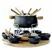 cookware set for fondue