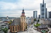 FRANKFURT, HESSE-July 11: Frankfurt am Main.Frankfurt is the largest city in the German state of Hesse and the fifth-largest city in Germany,July 11,2014 in Frankfurt, Germany.