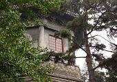 Window In Boya Pagoda, Peking University, Beijing, China
