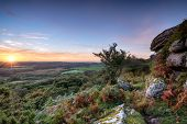 Autumn Sunrise On The Moors