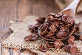 Portion Of Chocolate Cornklakes