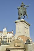 Monument To The Spanish King Philip Iv