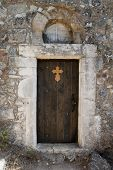 Door From Church At Ancient Pyli, Kos; Greece