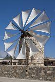 Windmill In Antimahia, Kos; Greece