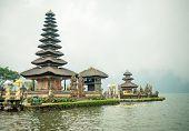 Water temple at Bratan lake