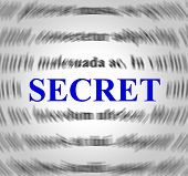 Secret Definition Indicates Hidden Secretly And Concealed