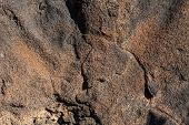 image of pumice-stone  - Image  of background texture  volcanic lava stones - JPG
