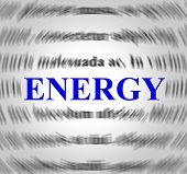 Energy Definition Represents Power Source And Powered