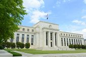 Federal Reserve Building in Washington DC, USA