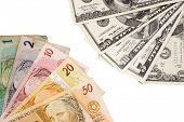 Photo of Exchanging money