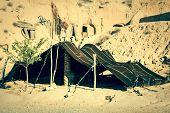 A Berber Tent In Matmata, Tunisia