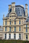 Details of :Louvre Museum.