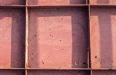 foto of ironclad  - The steel plate for block of construction - JPG