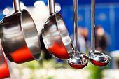 Metal Soup ladles