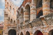 Arena Of Verona - The Place Of Annual Festival Operas In Verona, Italy