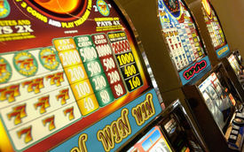 image of slot-machine  - Slot Machine at the casino in excellent quality - JPG