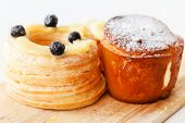 stock photo of french pastry  - french pastries - JPG