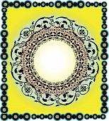 vector illustration of Islamic Art design