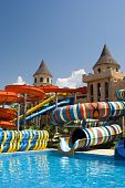 Aqua Park In The Open Air