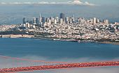 Golden Gate Bridge de San Francisco y ciudad