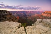 picture of grand canyon  - Sunset view of the Grand Canyon National Park - JPG