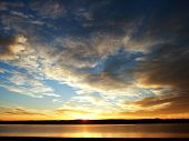 Lake Front Sunrise In Colorado
