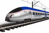 Moderne high-Speed-Zug