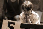 sad boy who lost