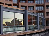 Park Hyatt Hotel Sydney - with reflection of Sydney Opera House