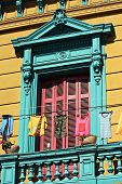 Colourful houses at La Boca in Buenos Aires