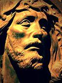 Statue of Christ at La Recoleta Cemetery