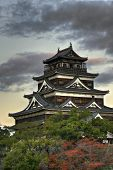 Hiroshima Castle in Japan