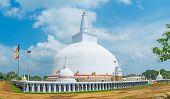 The Elephants At Stupa