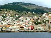 stock photo of hydra  - The Saronic island of Hydra in central Greece - JPG