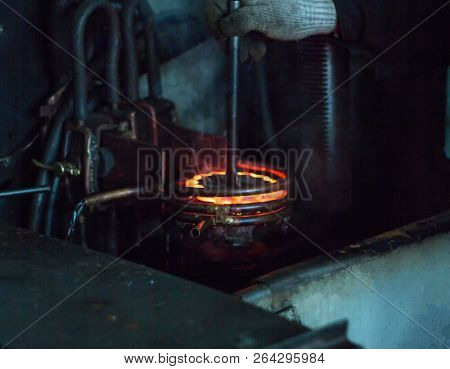 The Worker Makes Hardening Heat