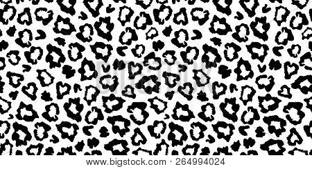 Black And White Leopard Skin