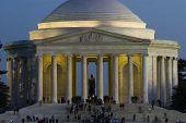 Jefferson Memorial night Washington DC travel series 40