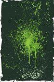 grunge background with ink blots