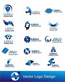 stock photo of crescent-shaped  - collection of vector graphic design elements - JPG