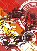 abstract digital vector background (no.4)