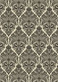 seamless vintage damask pattern ,vector illustration