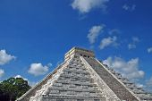 Ancient Mayan Pyramid In The Yucatan